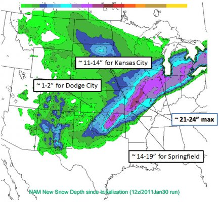 12z/Jan30 run of NAM snow accumulation