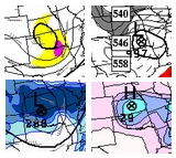 Canadian model 48hr fcst valid 6pm Mon 3/20