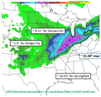 12z/Jan30 run of GFS snow accumulation
